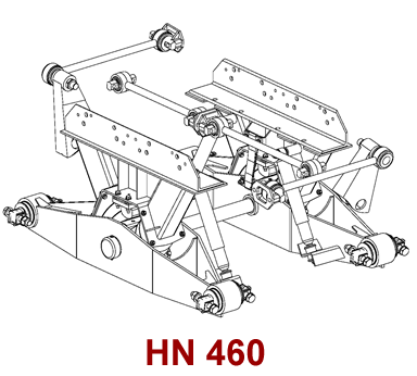HN 460 Hendrickson Suspension