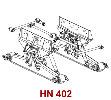 HN 402 Hendrickson Suspension